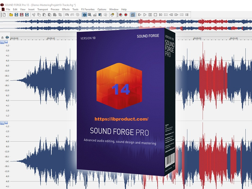 MAGIX Sound Forge Pro 14 Crack + Serial Number Free Download