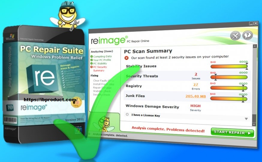 Reimage PC Repair 2021 Crack With License key Free Download