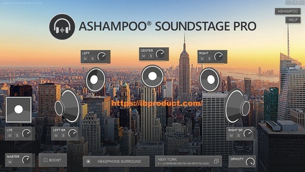 Ashampoo Soundstage Pro 1.0.3.0 Crack With Activation Key Download