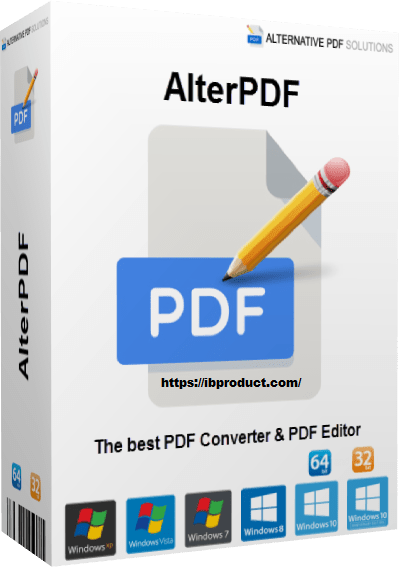 AlterPDF Pro 5.1 Crack With License Key Free Download 2021