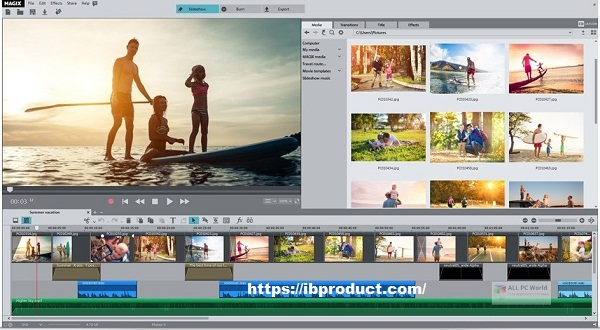 MAGIX Photostory Deluxe 2021 Crack v20.0.1.62 Free Download