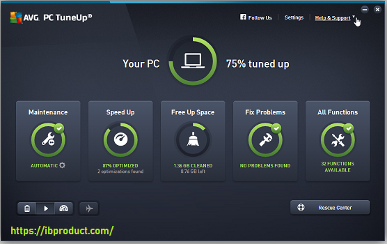 AVG PC TuneUp 21.1.2404 Crack With Product Key Free Download