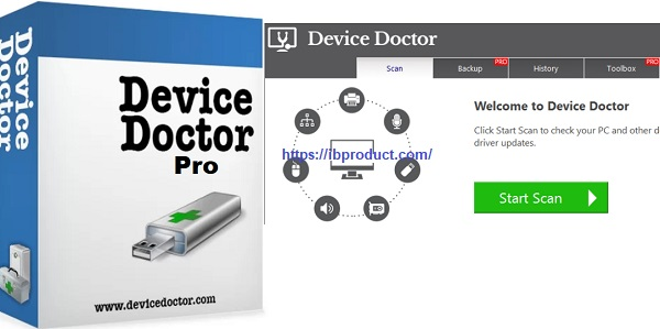 Device Doctor Pro 5.3.521.0 Crack With License Key Download 2021