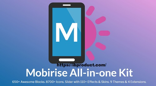 Mobirise 5.4.0 Crack With License Key Free Download 2021