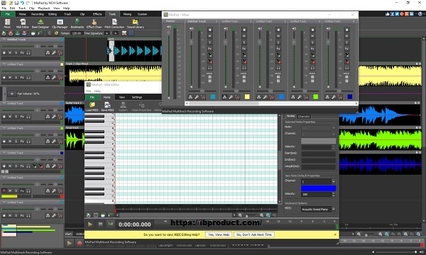NCH MixPad Masters Edition 7.31 Crack Full Version Free Download