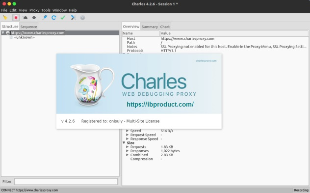 Charles Proxy 4.6.2 Crack With License Key Free Download 2021