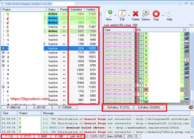 GSA Search Engine Ranker 15.62 Crack With Serial Key Free Download