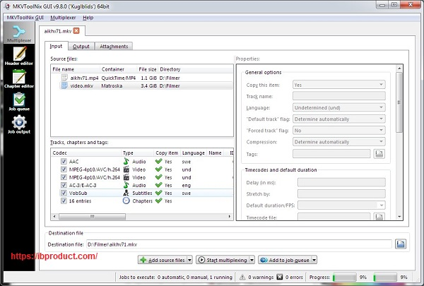 MKVToolNix 60.0.0 Crack With Product Key Free Download 2022