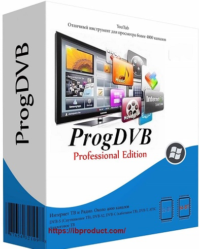 ProgDVB Professional 7.41.6 Crack With Activation Key Free Download