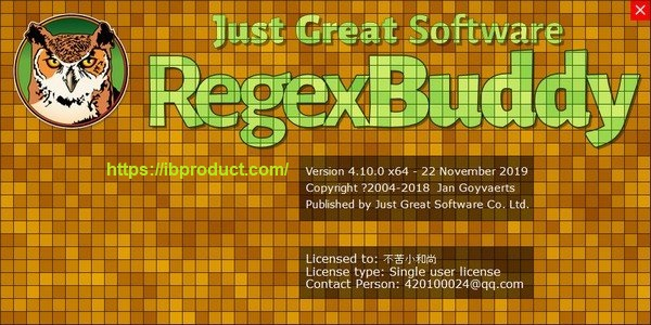RegexBuddy 4.11.0 Crack With License Key Free Download 2021