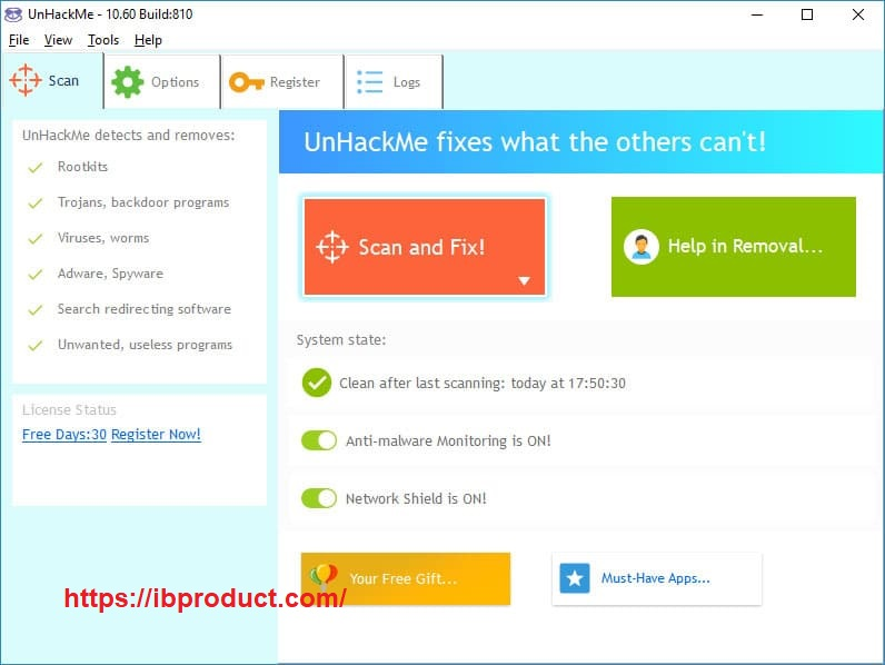 UnHackMe 12.67.2021.707 Crack With Keygen Free Download