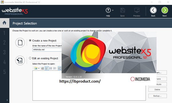 Website X5 professional 3.7.0 Crack With License Key Free Download