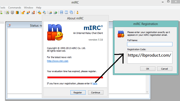 mIRC 7.66 Crack With Registration Code Full Version Free Download
