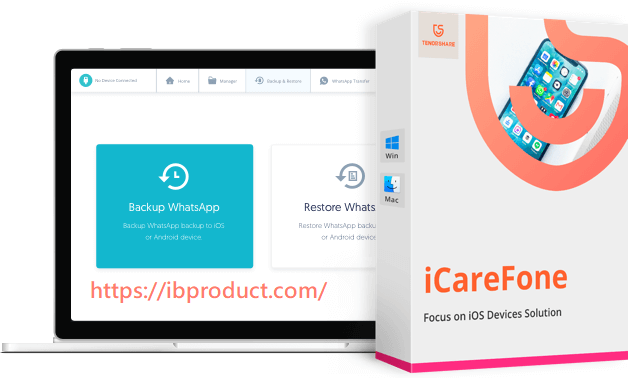 Tenorshare iCareFone 7.7.0 Crack With Registration Code Free Download